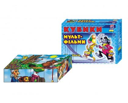 """Іграшка кубики """"Мультфільми ТехноК"""", арт.0144"""