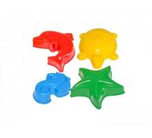 Іграшки «Формочки для піску ТехноК»