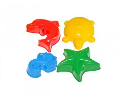 """Іграшки """"Формочки для піску ТехноК"""", арт.2421"""