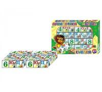 "Игрушка кубики ""Азбука + арифметика ТехноК"""