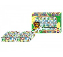 "Іграшка кубики ""Абетка+ арифметика ТехноК"""