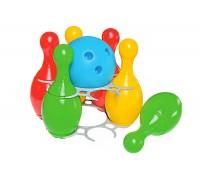 Іграшка «Набір для гри в боулінг 2 ТехноК»