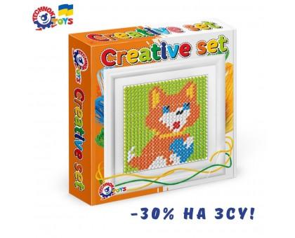 Іграшка набір для дитячої творчості «Вишиваночка ТехноК», арт. 3527