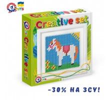 Іграшка набір для дитячої творчості «Вишиваночка ТехноК», арт.3527