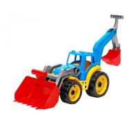 Трактор с двумя ковшами ТехноК