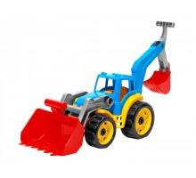 """Іграшка """"Трактор з двома ковшами ТехноК"""", арт.3671"""