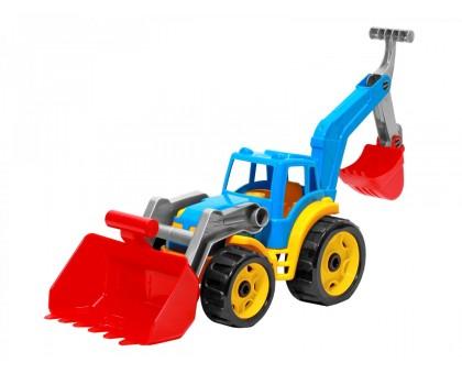 """Игрушка """"Трактор с двумя ковшами ТехноК"""", арт.3671"""
