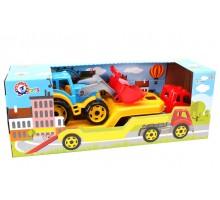 """Іграшка """"Автовоз з трактором ТехноК"""", арт.3916"""