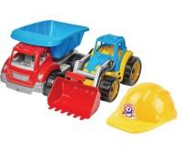 Іграшка «Малюк - будівельник 3 ТехноК»