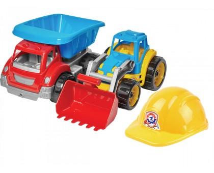 Игрушка «Малыш - строитель 3 ТехноК»