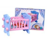 Игрушка «Кроватка для куклы ТехноК»