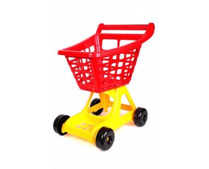Игрушка «Тележка для супермаркета ТехноК»