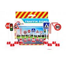 Іграшка «Набір дорожніх знаків ТехноК»