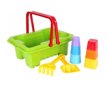 Іграшка «Набір для гри з піском ТехноК»