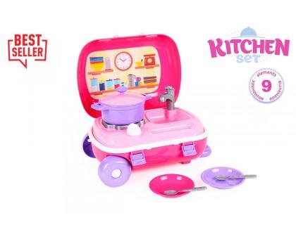 """Игрушка """"Кухня с набором посуды ТехноК"""", арт.6061"""