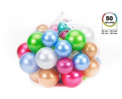 """Игрушка """"Набор шариков для сухих бассейнов ТехноК"""", арт.7310"""